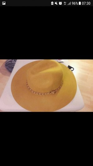 H&M Woolen Hat sand brown-yellow
