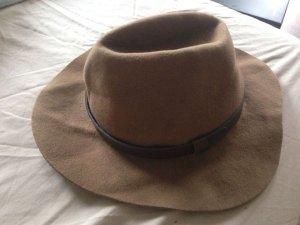 Balmain for H&M Cappello da caccia marrone Materiale sintetico
