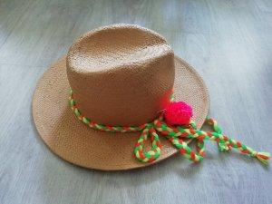 H&M Chapeau de paille multicolore