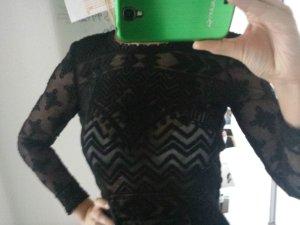 H&M Isabel Marant pour H&M Spitzen Shirt schwarz S 36