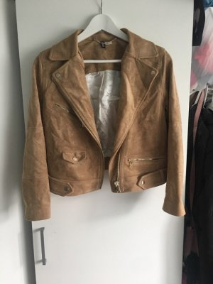 H&M Fake Fur Jacket camel