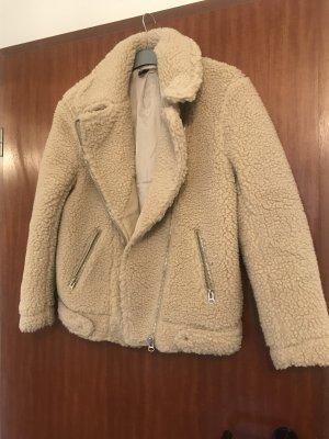 H&M Jacke aus Teddy