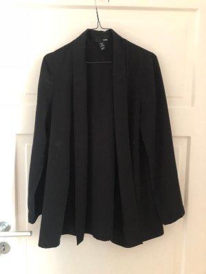 H&M Jacke Blazer Cape Mantel Schwarz Black Oberteil