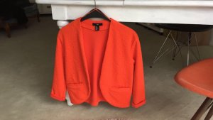 H&M Jacke Blazer orange XS - S 36-38