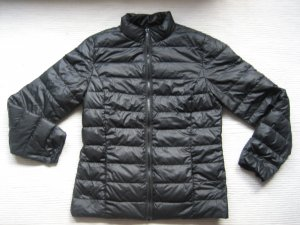 H&M jacke daunnenjakce neuwertig gr. s 36 schwarz