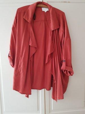 H&M Giacca taglie forti rosso mattone