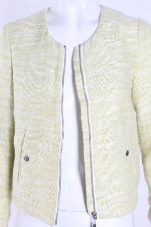 H&M Jacke grün-weiß meliert