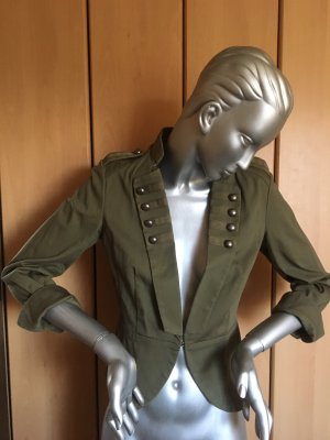 H&M Jacke im Militär Stil Khaki Gr. M