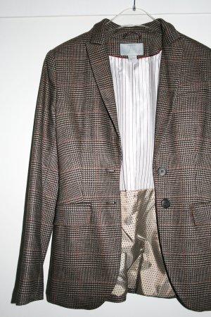 H&M Jacke, kariert, braun, NEU, Gr. 36