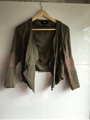 H&m Jacke Khaki grün 34