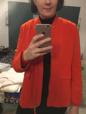 H&M Chaqueta de marinero color oro-rojo