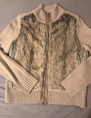 H&M Fur Jacket multicolored