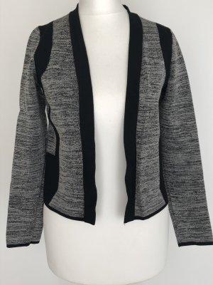 H&M Giacca nero-grigio Viscosa