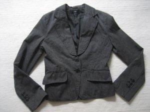 H&M jacket blazer top zustand gr. xs 34 schwarz