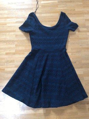H&M Vestido azul oscuro