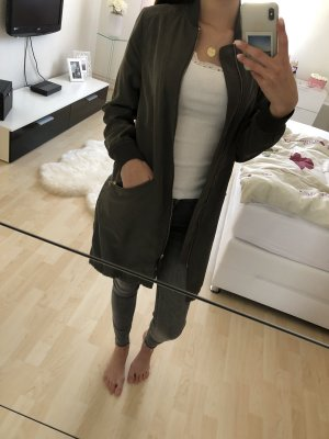 H&M Long Jacket khaki