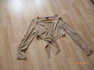 H&M Bolero color cammello