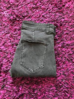 H&M Jeans skinny gris foncé-gris anthracite