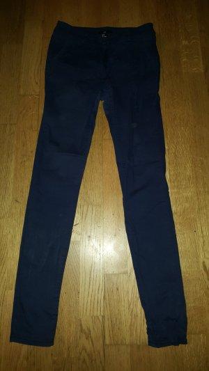 H&M Tube jeans blauw-lila
