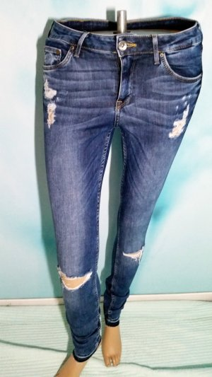 H&M Jeans 28/ 32 (38) super skinny low waist Risse destroyed