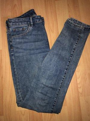 H&M Jeans skinny multicolore Cotone