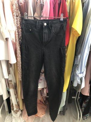 H&M Pantalone a sigaretta antracite
