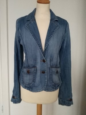 H&M Denim Blazer multicolored mixture fibre