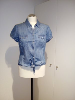 H&M Jeans Bluse zum Knoten