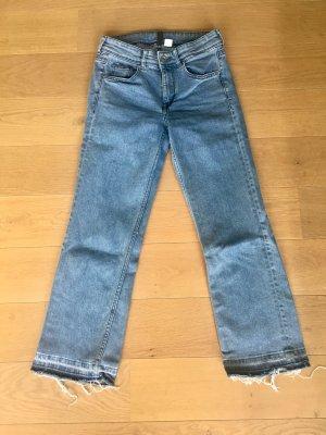 H&M Jeans-Culotte mit hohem Bund
