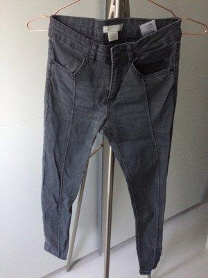 H&M Jeans Damen grau