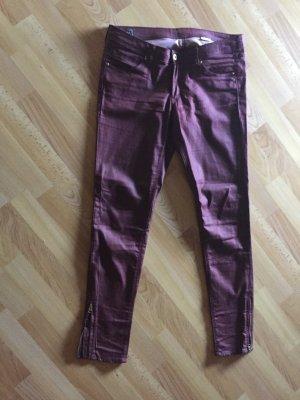 H&M Jeans Glanz/Lederoptik
