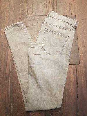 H&M Jeans grau neu 36