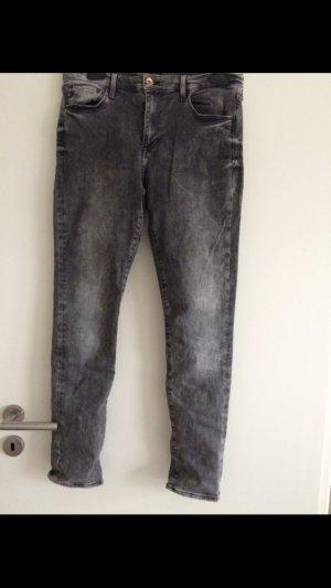 H&M Jeans grau usedlook