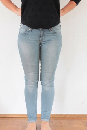 H&M Tube Jeans azure