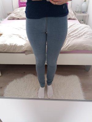 H&M Jeans Hose hellblau 34 36 XS S Tregging Blogger
