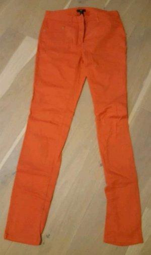 H&M Jeans Hose Orange 36 Neuwertig