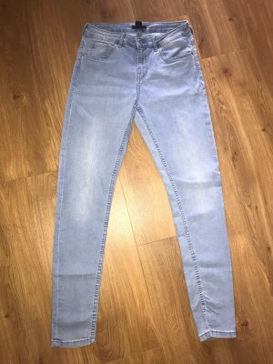 H&M Stretch Jeans azure-baby blue