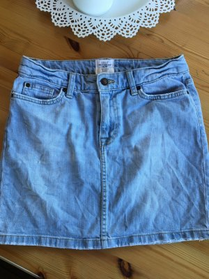 H&M Jeans Mini Rock Gr 36 hellblau