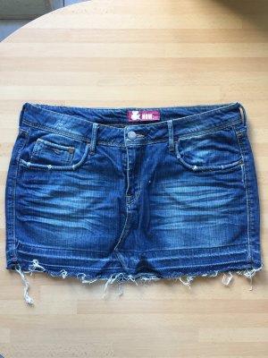 H&M Jeans-Minirock 42