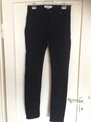 H&M Jeans Röhre schwarz