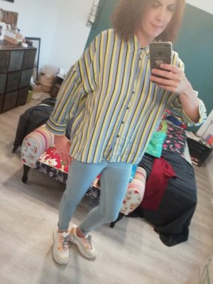 H&M Jeans azure