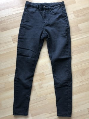 H&M Jeans schwarz Black Washed Gr. 38 / M