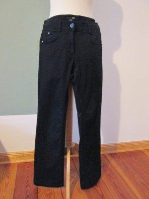 H&M Jeans schwarz gerader Schnitt Gr. 36