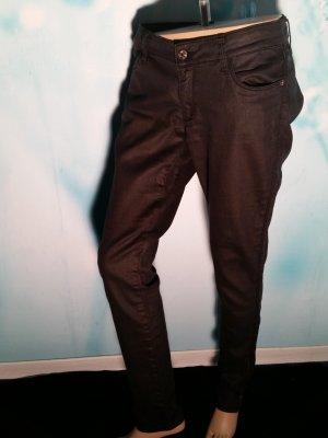 H&M Jeans Schwarz Gr 24 Strech Röhre sehr gut erhalten