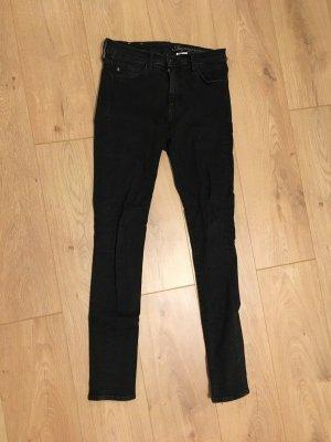 H&M Jeans Schwarz Größe 29/32