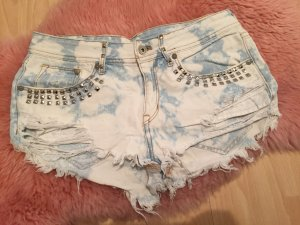 H&M Jeans Shorts Hot Pants 36 Nieten