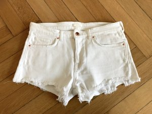 H&M Jeans Shorts Jeansshorts 36 S weiß
