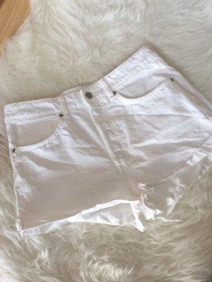 H&M Jeans Shorts weiß neu distressed 40 L