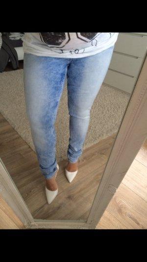 H&M Jeans skinny blau