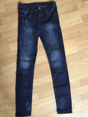 H & M Jeans slim blau